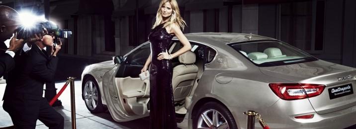 01 Heidi Klum with Quattroporte Ermenegildo Zegna Limited Edition
