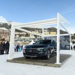 Maserati Levante Royale on display @ Snow Polo World Cup in St. Moritz