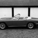 Vettura presentata nel 1964 offerta con tre diverse motorizzazioni, tutte a sei cilindri in linea: 3485, 3694 e 4013 cmq cubi. Il proprietario della vettura è Roger Lucas.